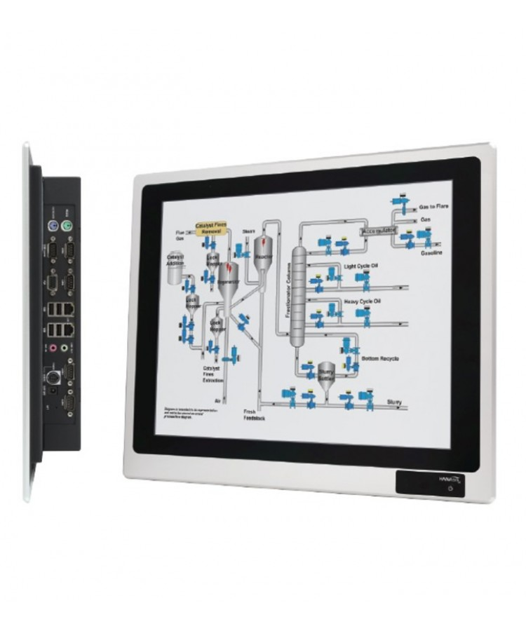 "Hanasis IPC-A170T 17"" IP65 Endüstriyel Panel PC"